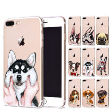 Cute Dogs Transparent iPhone Case (18 types)