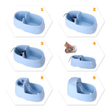 Convenient Automatic Dog's Drinking Bowl with Carbon Filters